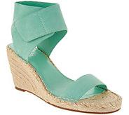 Vince Camuto Leather Ankle Strap Espadrilles - Levista - A306355