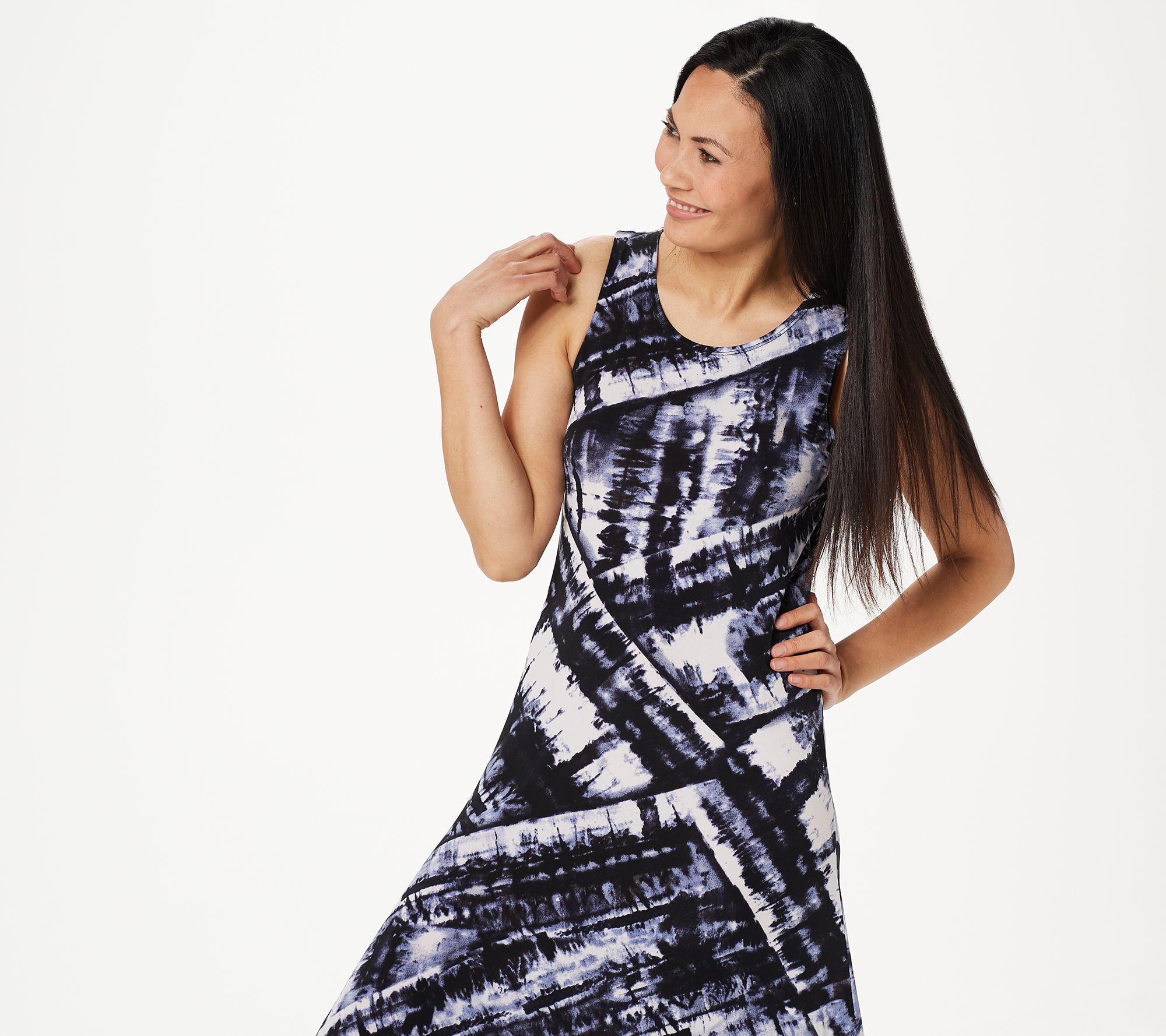 905683b5f820 Attitudes by Renee Regular Printed Maxi Dress with Cardigan - Page 1 —  QVC.com