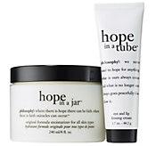 philosophy mega size hope in a jar moisturizer & eye cream duo - A309255