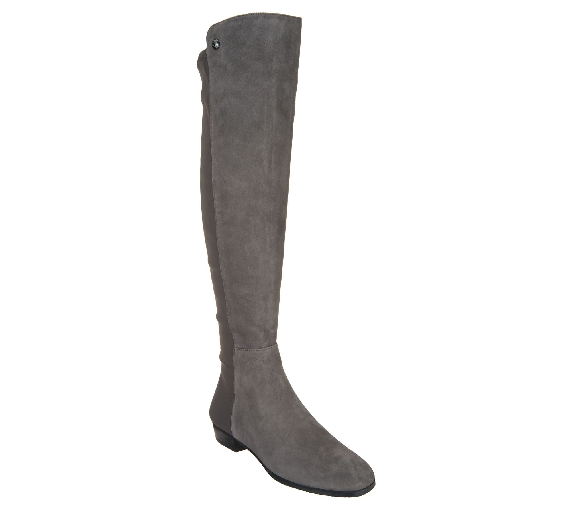 d30ade219bc Vince Camuto Wide Calf Leather Tall Shaft Boots - Karita — QVC.com