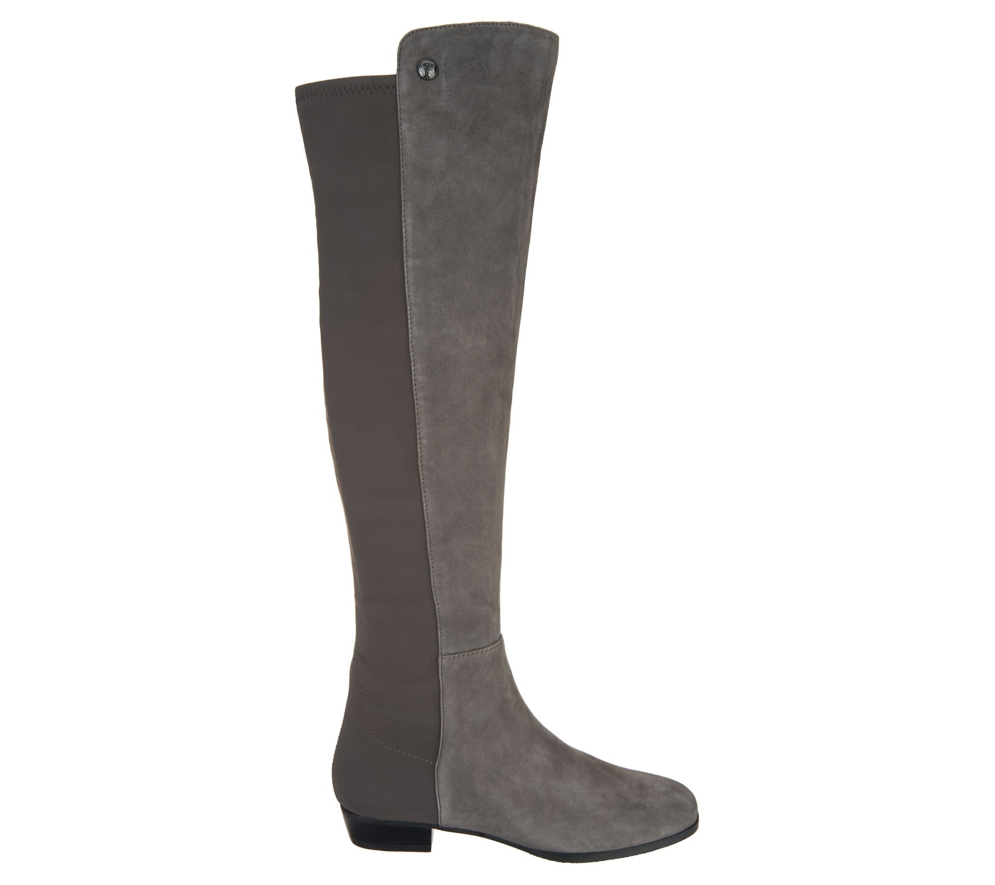 03a122df4f7 Vince Camuto Wide Calf Leather Tall Shaft Boots - Karita — QVC.com