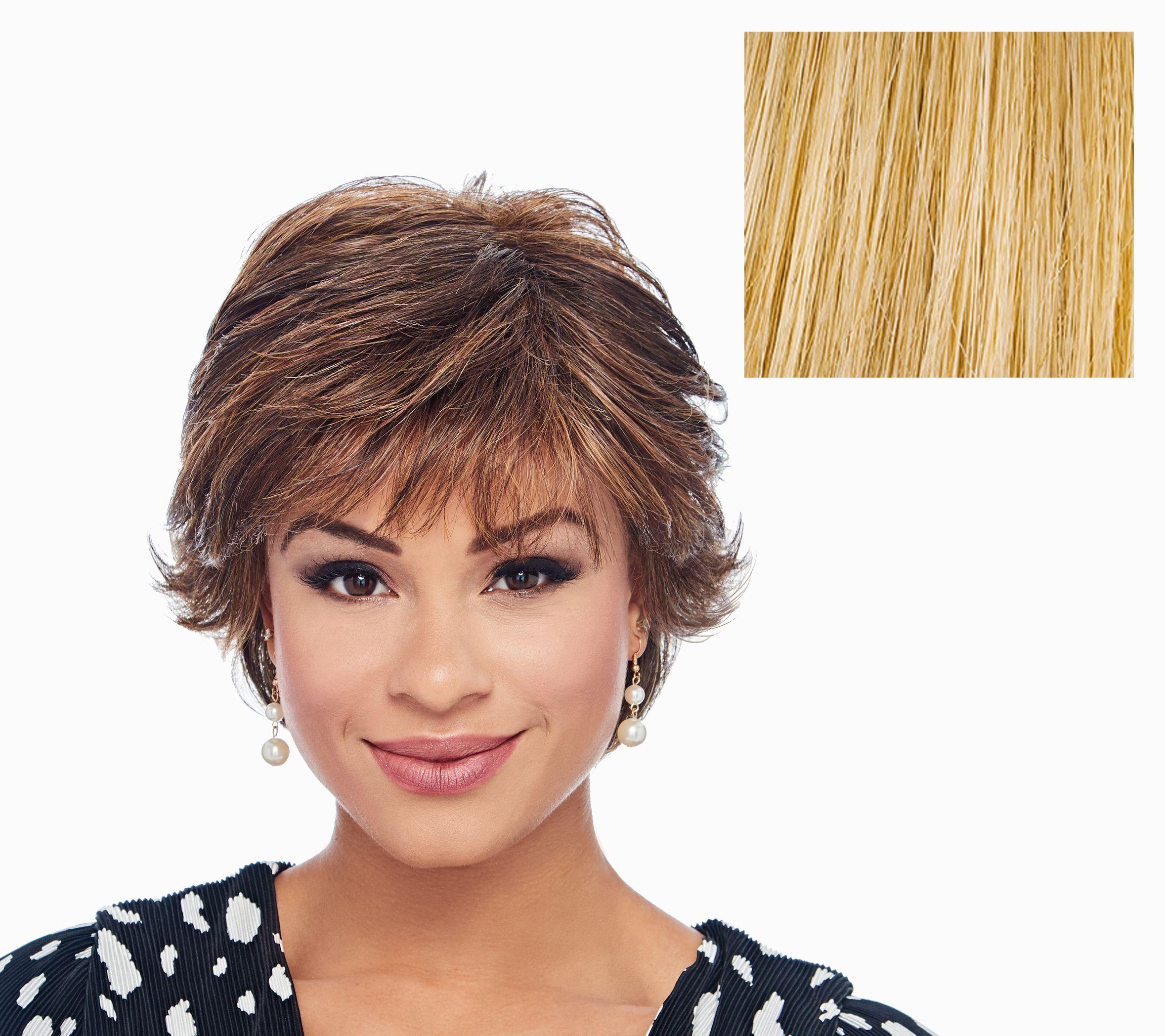 Hairdo Textured Flip Cut Wig — Qvc