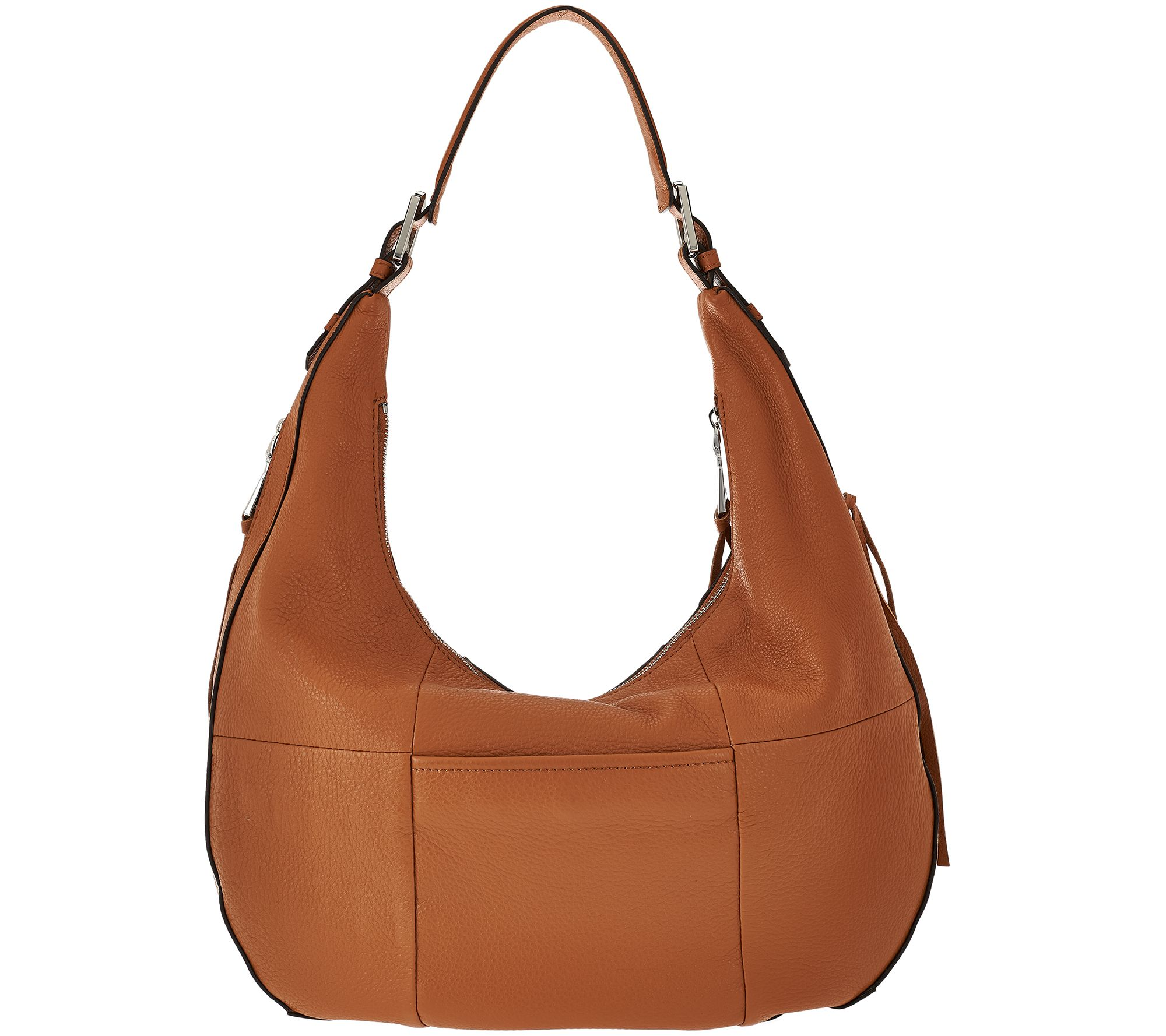1cfe7f9d07 Aimee Kestenberg Pebble Leather Hobo - Genny - Page 1 — QVC.com