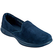 Skechers GOstep Lite Suede Slip-On Shoes - Indulge - A295956