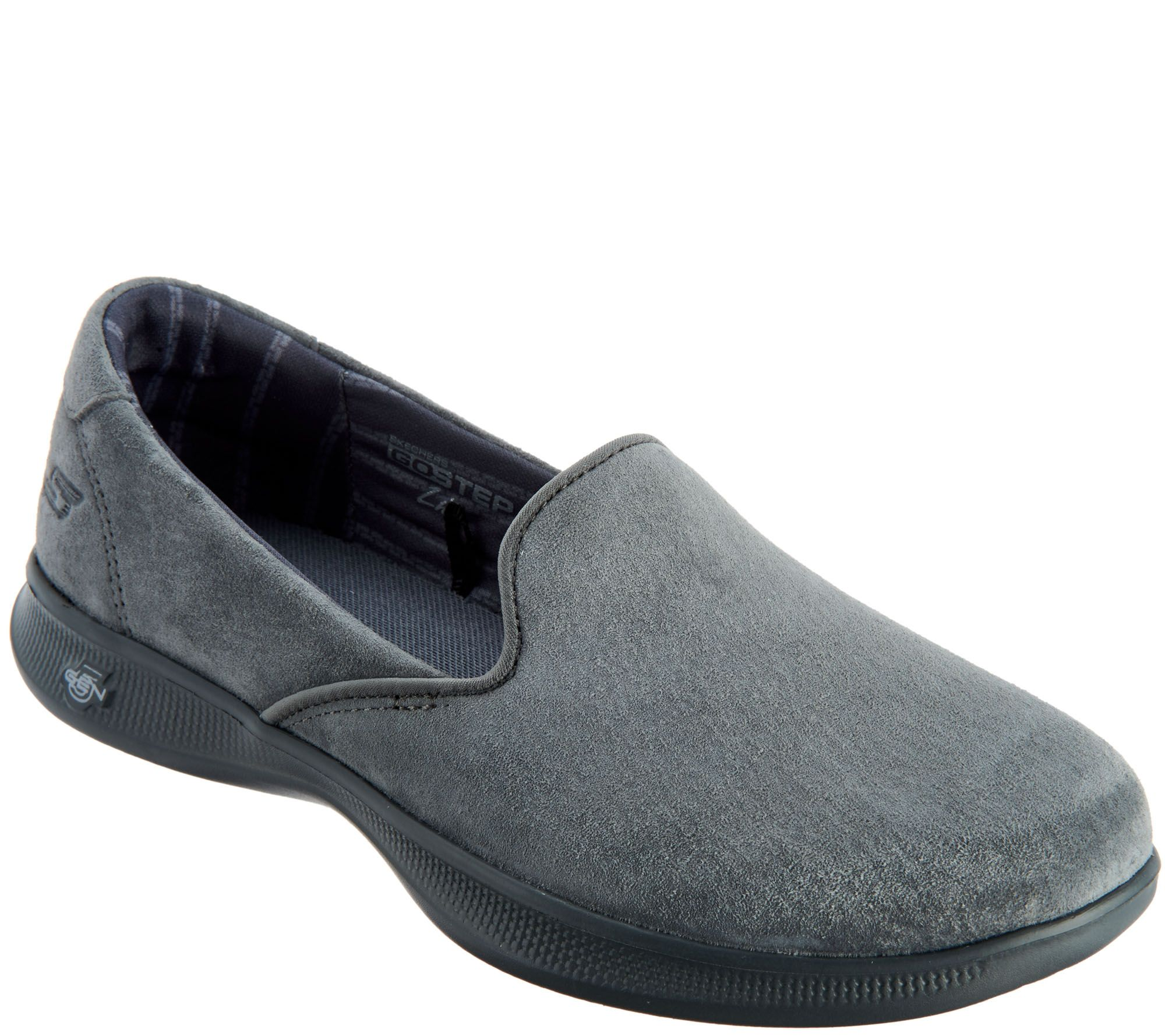 cfcebc2f819d Skechers GOstep Lite Suede Slip-On Shoes - Indulge - Page 1 — QVC.com