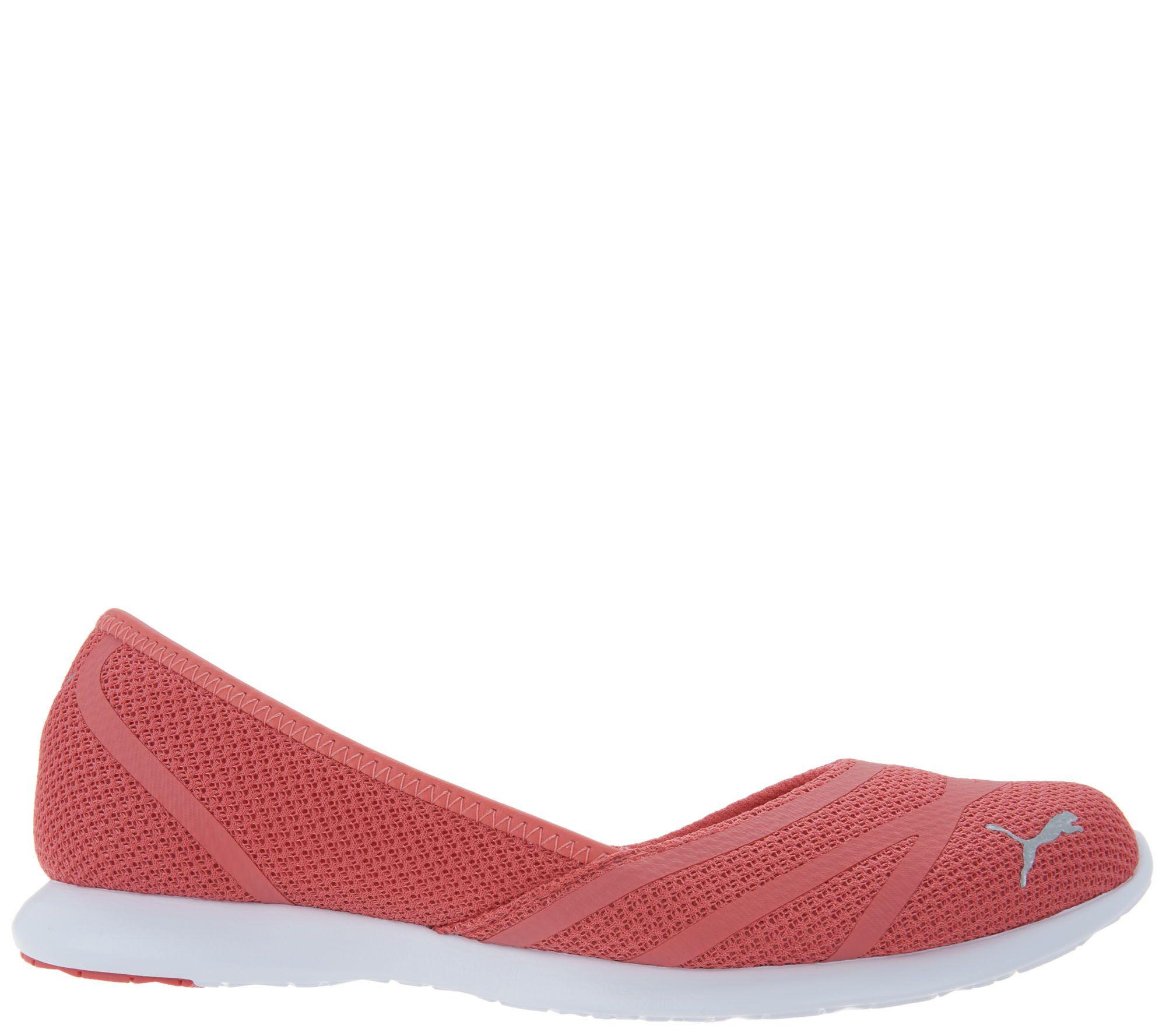 03b5cbf1248e31 PUMA Mesh Slip-On Shoes - Vega Ballet - Page 1 — QVC.com