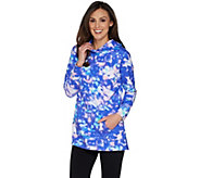 As Is Isaac Mizrahi Live! SOHO Photoreal Pullover Hoodie - A311456