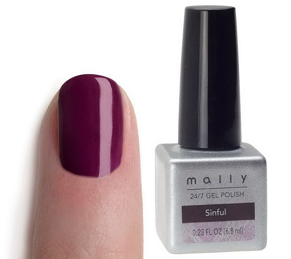 Mally 24/7 Gel Polish Nail Color - Page 1 — QVC.com