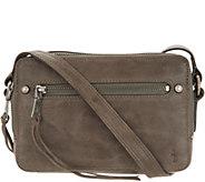 Frye Leather Zip Camera Bag - A346256