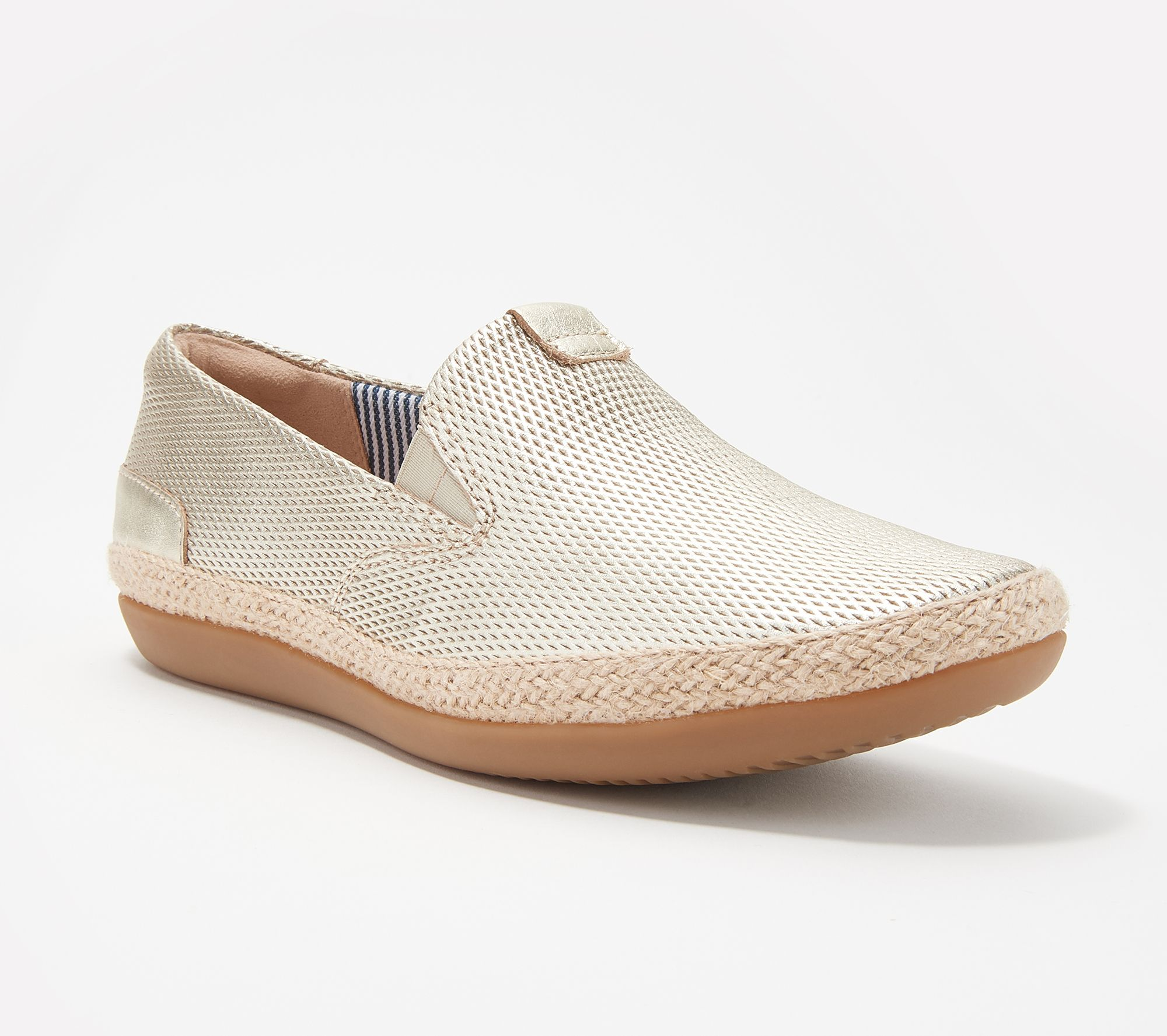 d37038beaa5 Clarks Collection Leather Slip-Ons - Danelly Iris — QVC.com