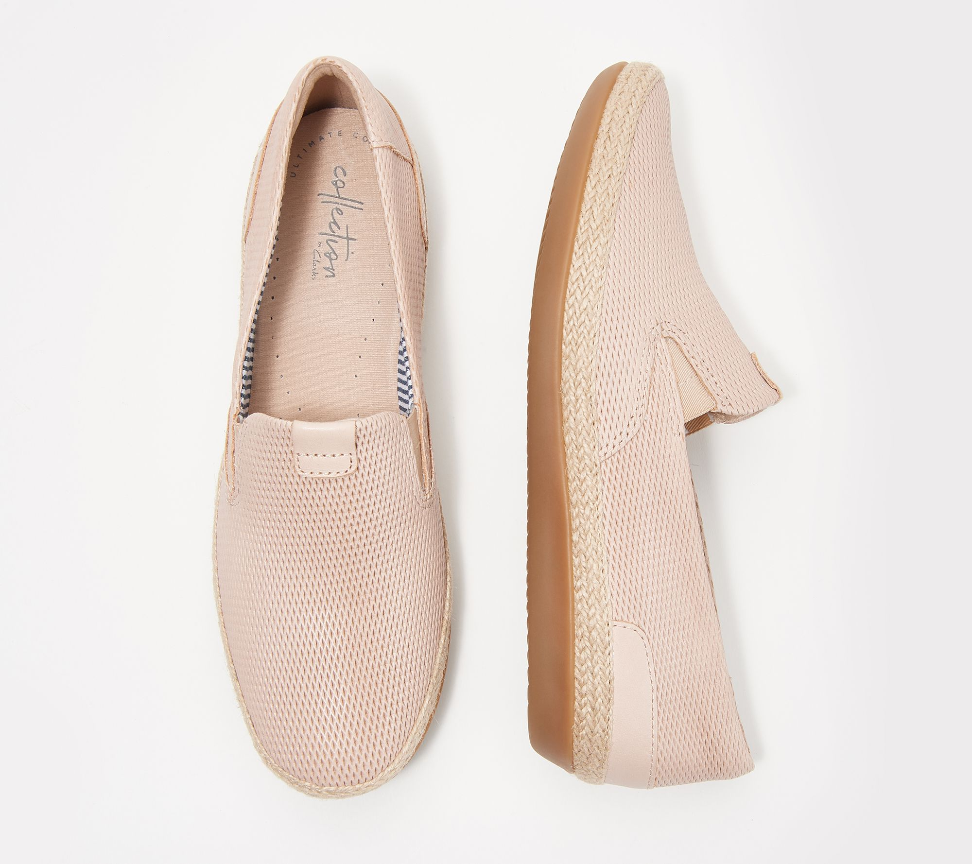 b0c69adf11c Clarks Collection Leather Slip-Ons - Danelly Iris - Page 1 — QVC.com