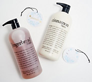 philosophy holiday treats super-size special edition shower gel duo - A387656