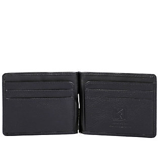 Karla Hanson RFID Blocking Leather Money Clip
