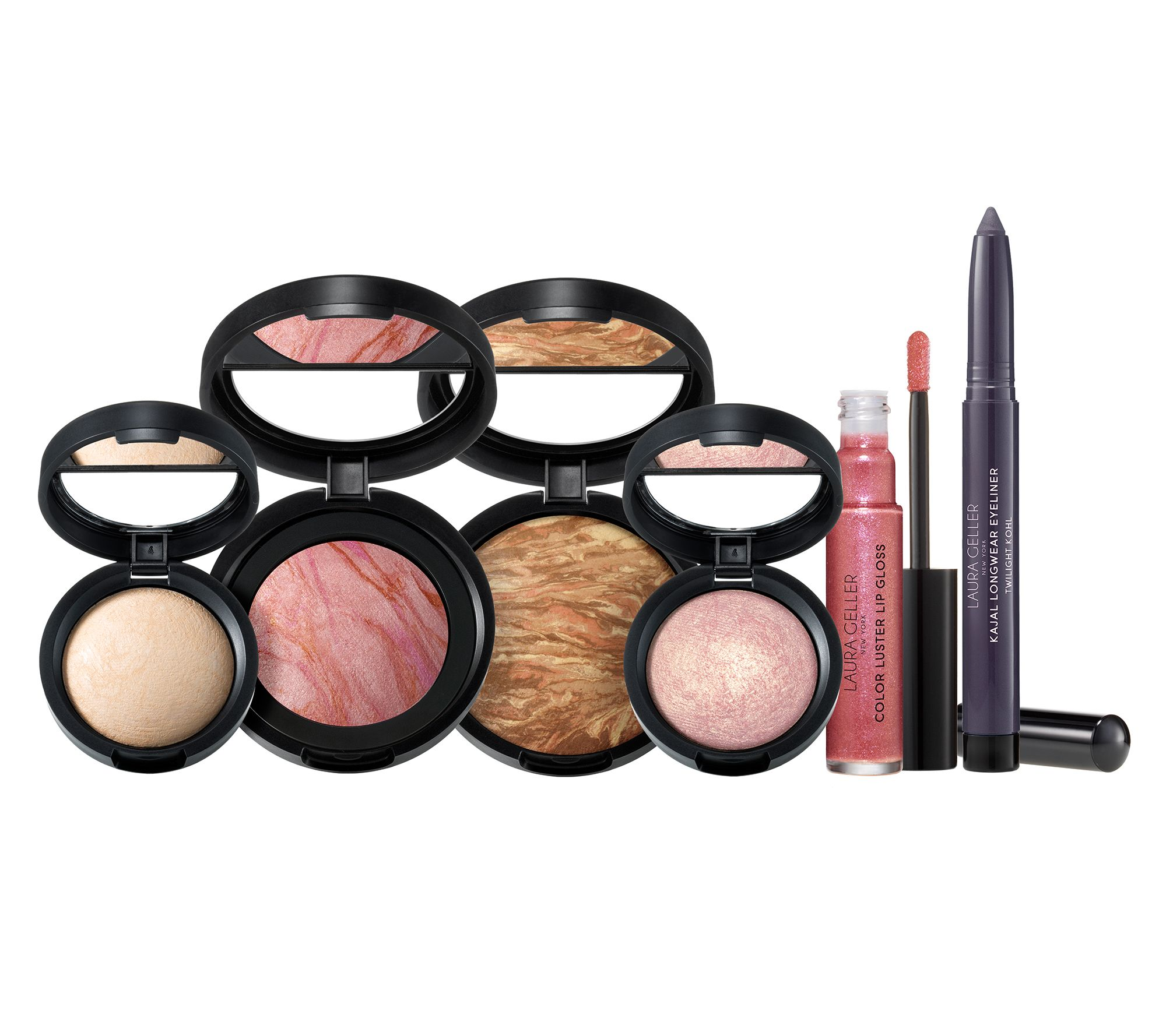 8edae3e69b18 Laura Geller Total Package 6-Piece Full-SizeKit - Page 1 — QVC.com