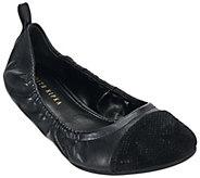 Judith Ripka Leather Slip-on Flats - Alberta - A270357