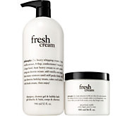 philosophy super-size shower gel and souffle duo - A277257