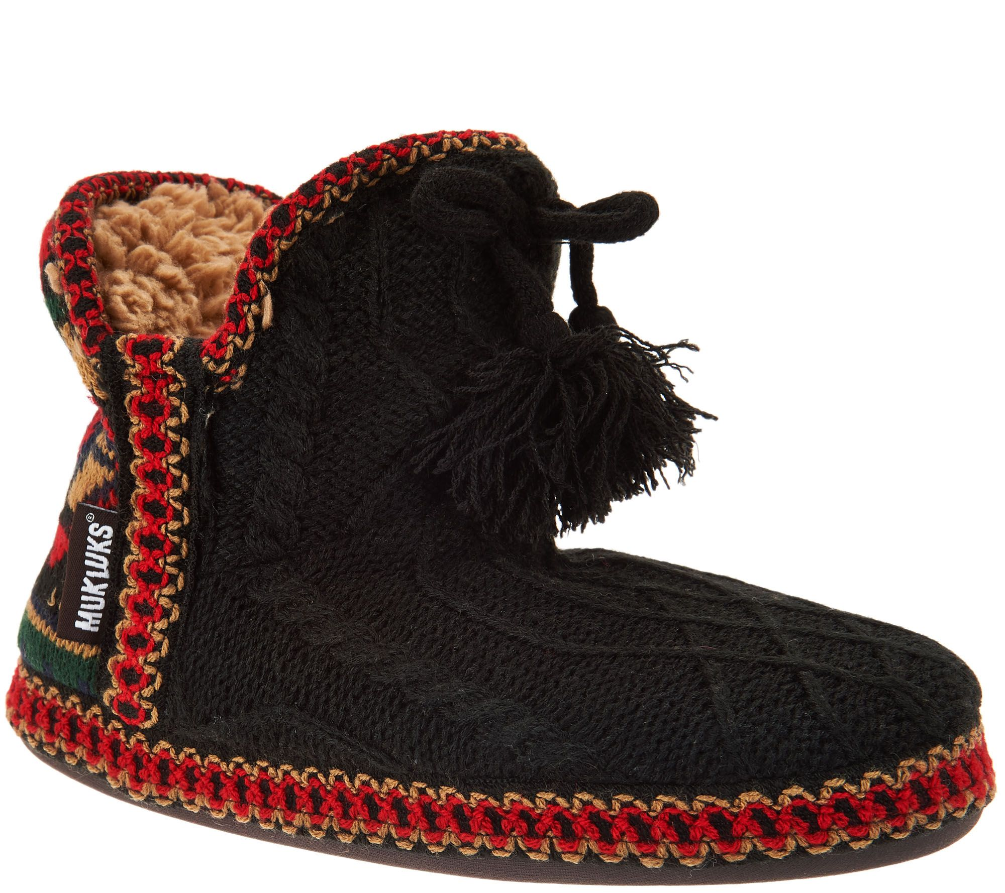 MUK LUKS Amira Slipper Boots with Furpa Lining cheap footlocker finishline oMJgw8wp