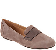 GEOX Suede Slip-On Shoes - Charlene - A298857