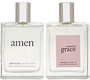 philosophy super-size amen & grace his and hers fragrance duo - A309257