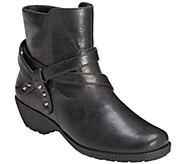 Aerosoles Motorcycle Style Ankle Boots - Instintaneous - A334857