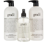 philosophy love & grace super-size body layering kit Auto-Delivery - A347057