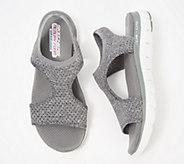 Skechers Knit Cutout Sport Sandals - Deja Vu - A349857