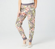 Denim & Co. Active Petite French Terry Pull-On Pants - A379757