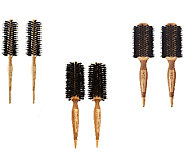 WEN by Chaz Dean Signature Boar Bristle Round Brush Duo - A237058