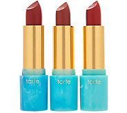 tarte Rainforest of the Sea Hydrating Lipstick Trio - A286458