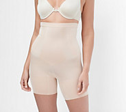 Spanx Oncore High-Waist Mid-Thigh Shaping Shorts - A293558