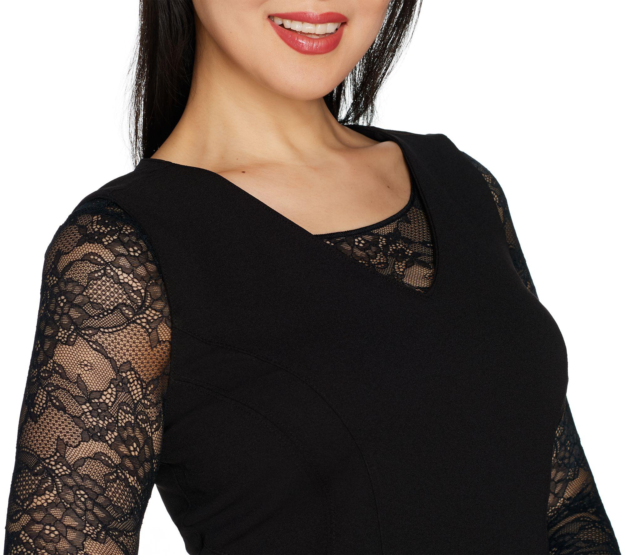 8976ff1c2946a Spanx Sheer Fashion Long Sleeve Crop Top - Page 1 — QVC.com