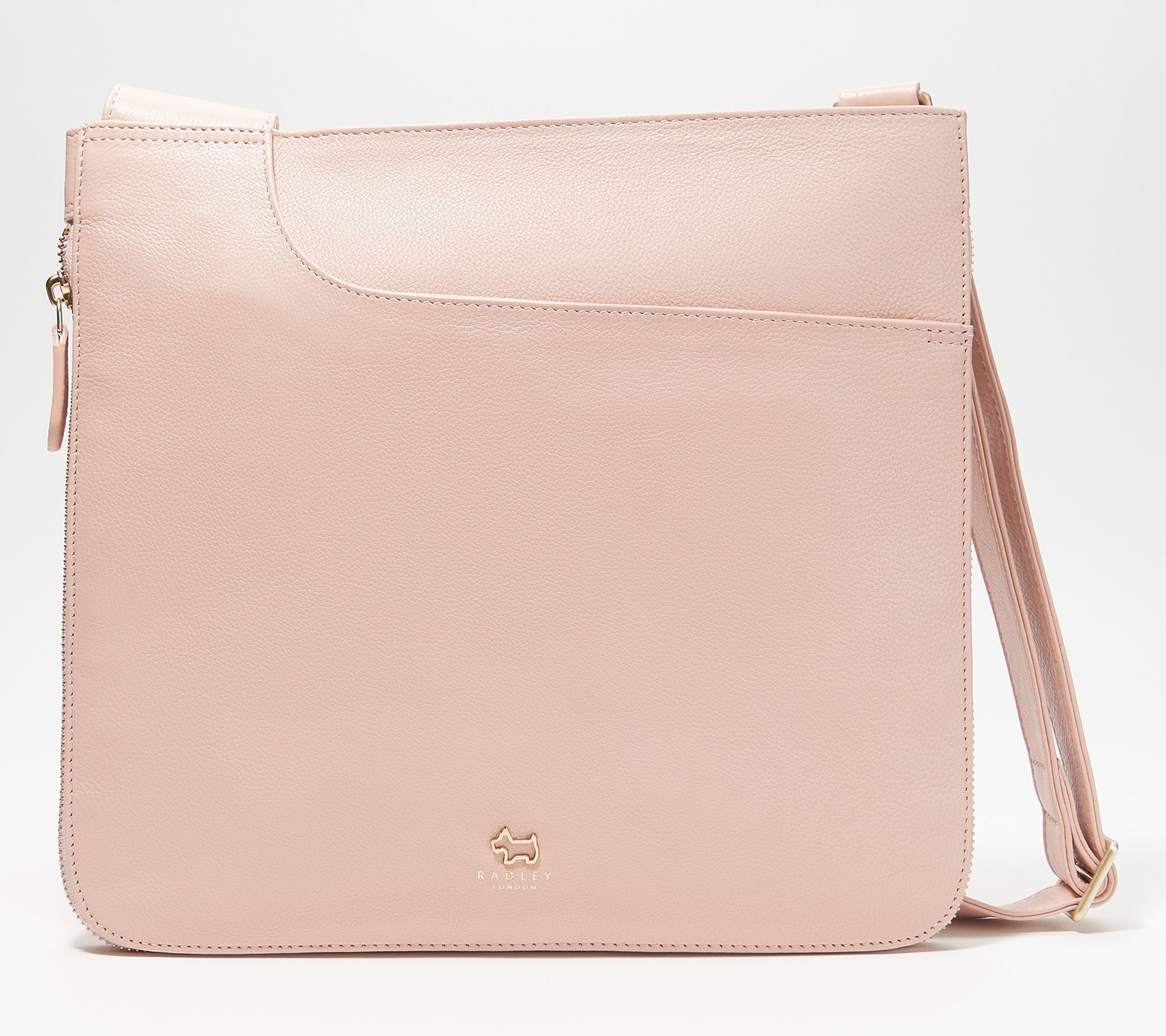 fcb1004c1 RADLEY London Pocket Leather Large Zip-Top Crossbody - Page 1 — QVC.com