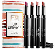 Laura Geller Lip Service Shine Stick 4-Piece Kit - A303358