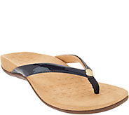 Vionic Thong Sandals w/ Button - Mona - A303458
