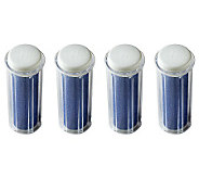 Emjoi Micro-Pedi Extra Coarse Refill Roller Setof 4 - A331958