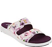 As Is Ryka Adjustable Slide Sandals- Marilyn - A345058