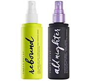 URBAN DECAY Rebound Prep Priming Spray & All Nighter Setting Spray - A365558