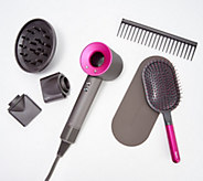 Dyson Supersonic Hair Dryer Kit with Brush & Comb - A367358