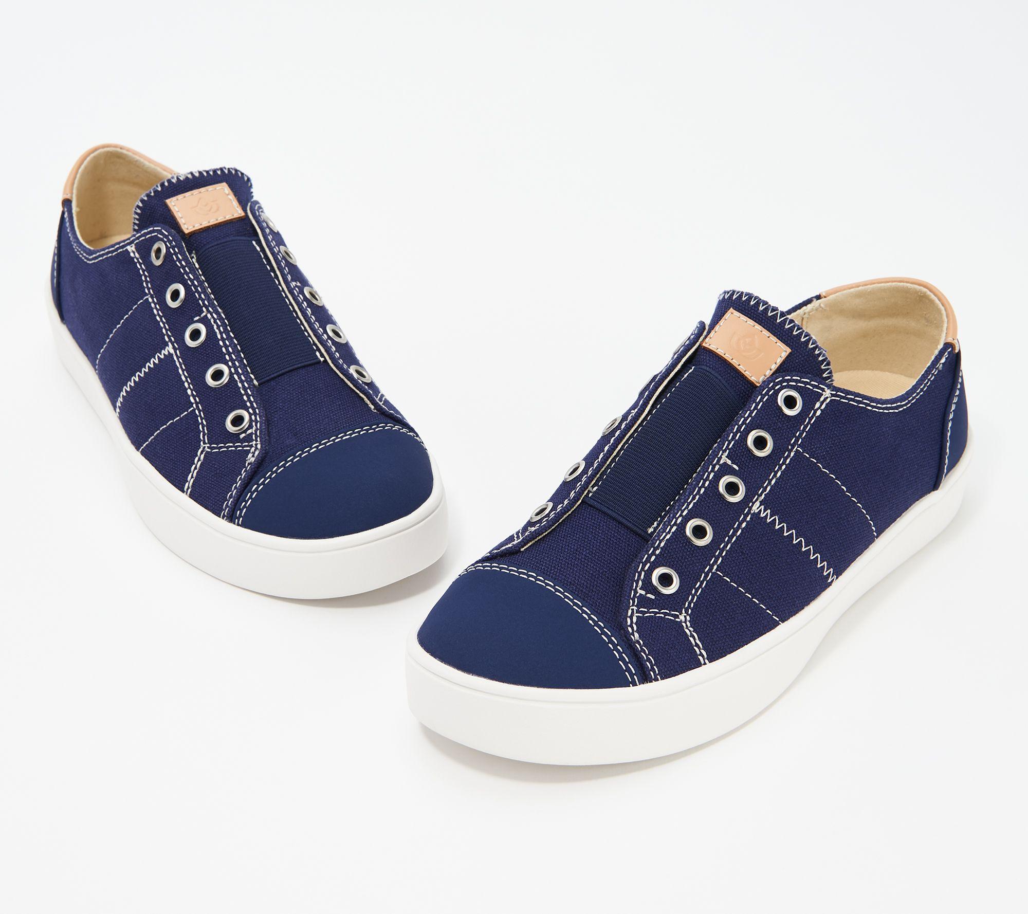 eae2ffb300 Spenco Orthotic Canvas Slip-On Shoes - Malibu - Page 1 — QVC.com