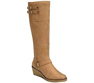 A2 Knee High Wedge Boots - Robbins