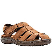 Propet Mens Leather Fisherman Sandals - Joseph - A423758