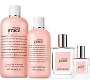 philosophy shower gel & fragrance home & away set - A279559