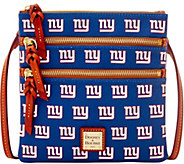 Dooney & Bourke NFL Giants Triple Zip Crossbody - A285659