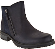 Earth Vintage Leather Side Zip Ankle Boots - Jordan - A294459