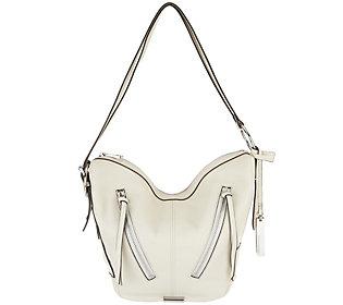 Vince Camuto Leather Convertible Backpack- Nikia