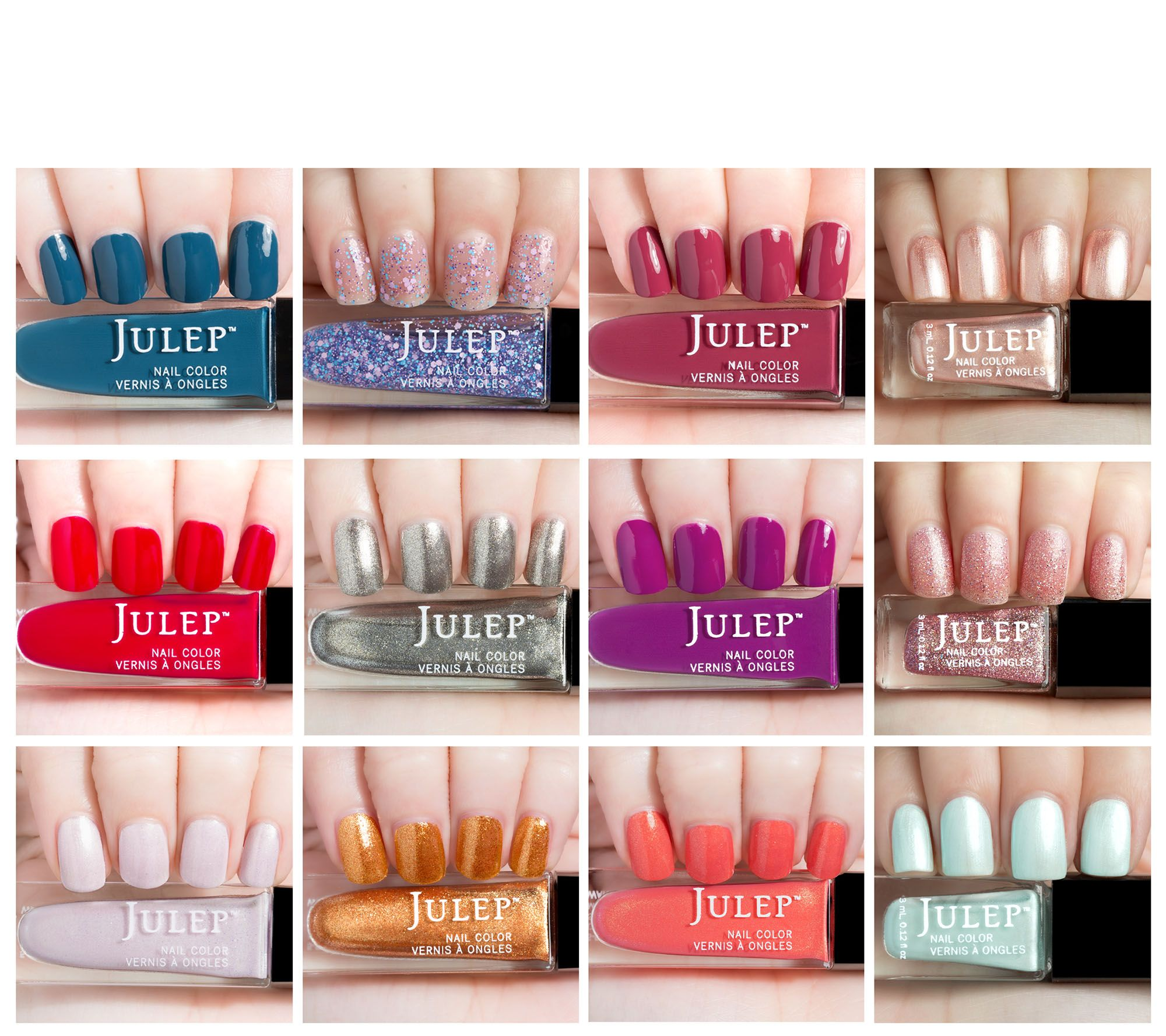Julep #Coveted 12-piece Mini Nail Set - Page 1 — QVC.com