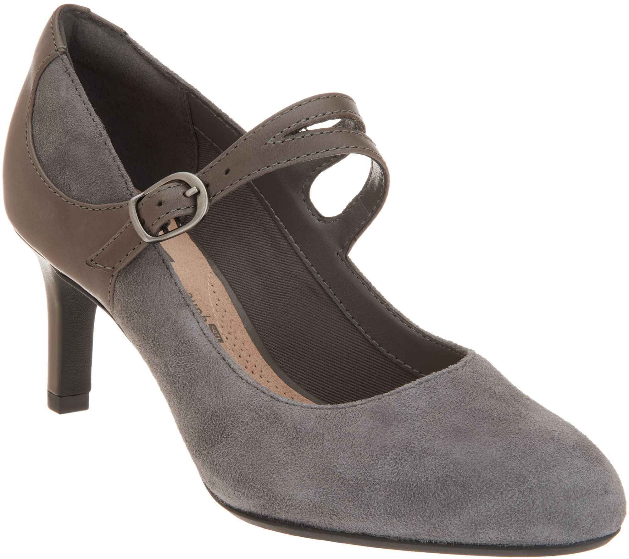 Clarks Collection Suede Pumps Dancer Reese —