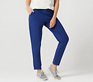 Denim & Co. Active Pull-On French Terry Ankle Pants - A349959
