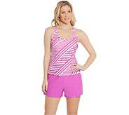 Ocean Dream Signature Stripe Play Tankini Swimsuit - A273960