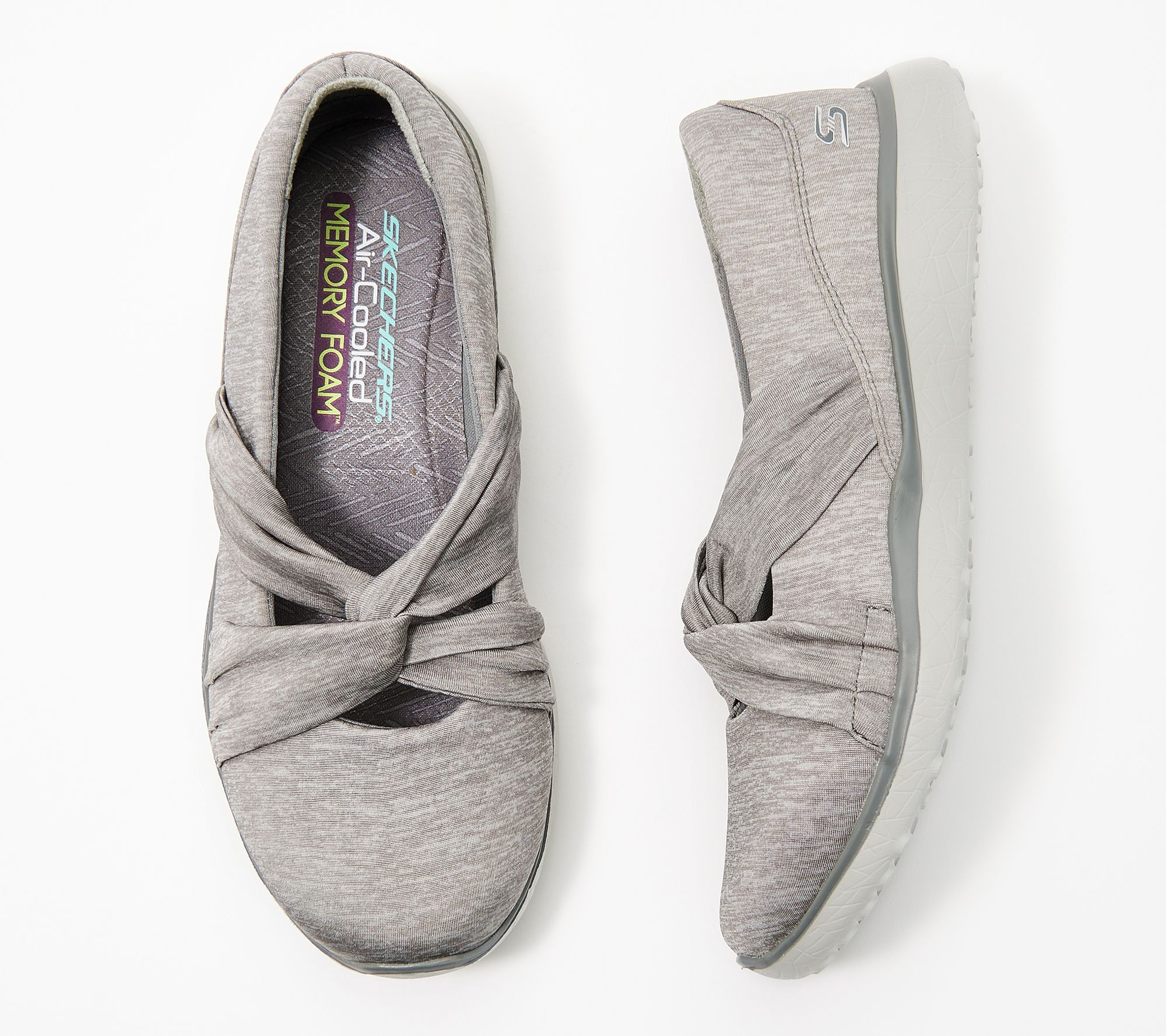 the sale of shoes special for shoe new styles Skechers Heathered Jersey Mary Janes - Knot Concerned - Page 1 ...